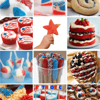 4TH OF JULY: RED, WHITE AND BLUE TREATS