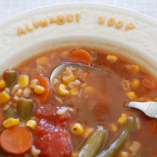FOOD STORAGE RECIPE: ALPHABET SOUP