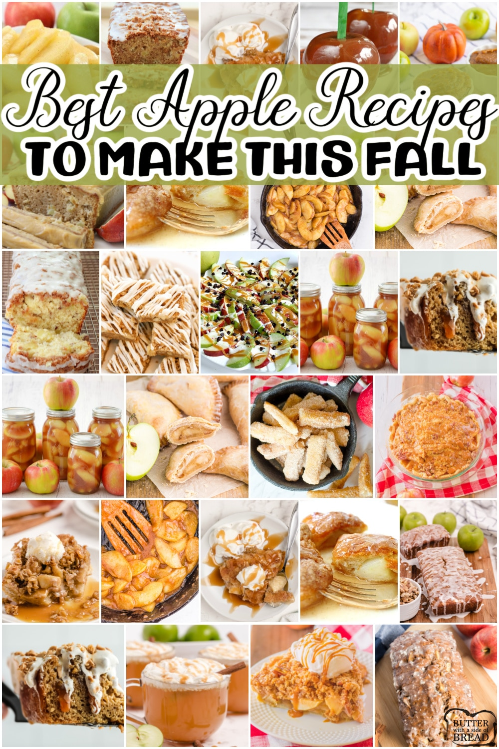 Best collection of incredible apple recipes ever! See our pick of most popular apple pies, apple crisps, how to freeze apples, dry apples, and everything in between!