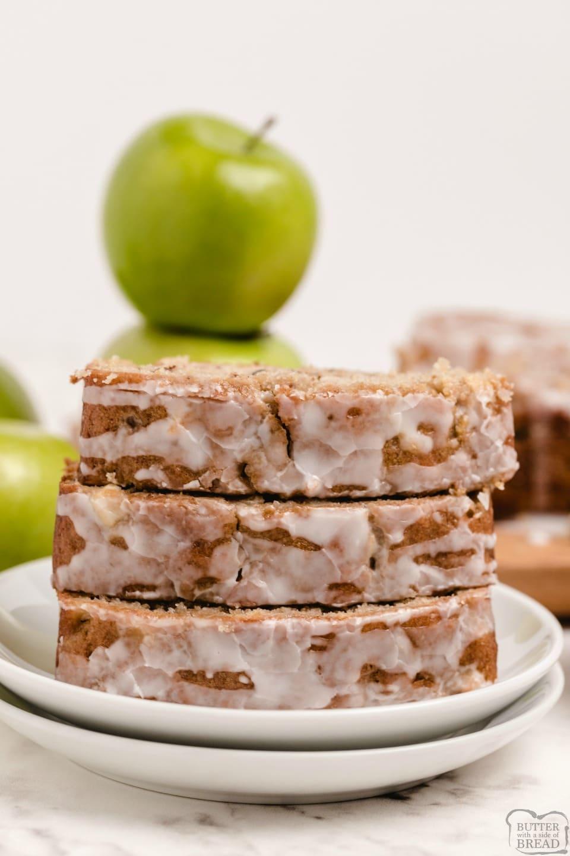 Easy Apple Cinnamon Walnut Bread recipe