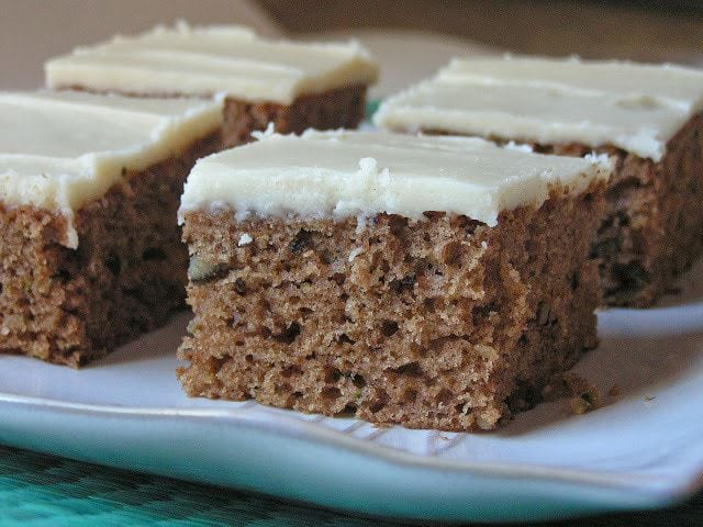 ZUCCHINI SPICE CAKE WITH BROWNED BUTTER FROSTING - Butter ...