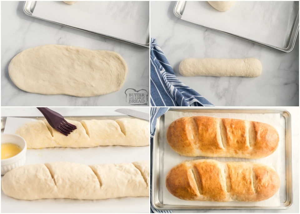How to make Easy Homemade French Bread recipe