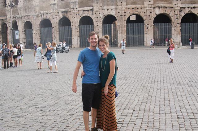 WHEN IN ROME: PASTA, PIZZA, & 1 GIANT TOURIST RIP-OFF:)