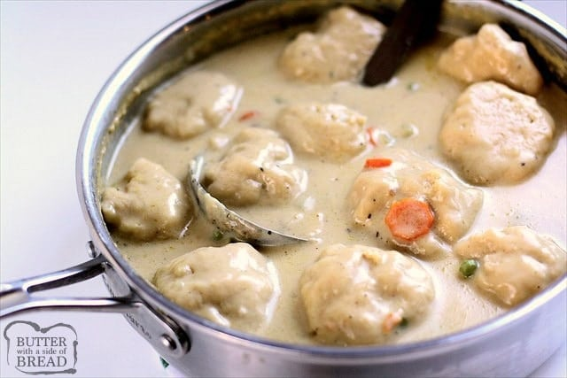 Chicken Dumplings Recipe Made With Juicy Fresh Vegetables And Homemade Biscuit