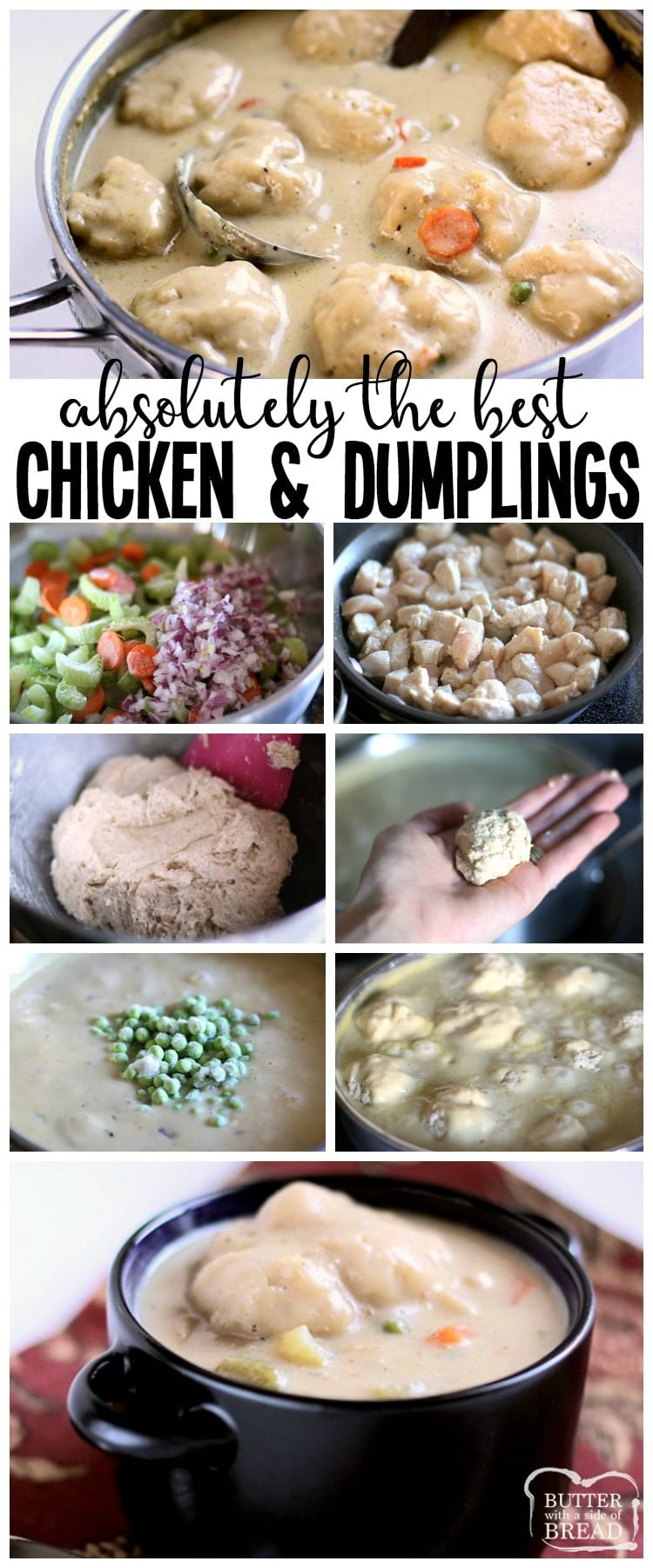 recipe: what is a good accompaniment to chicken and dumplings [25]