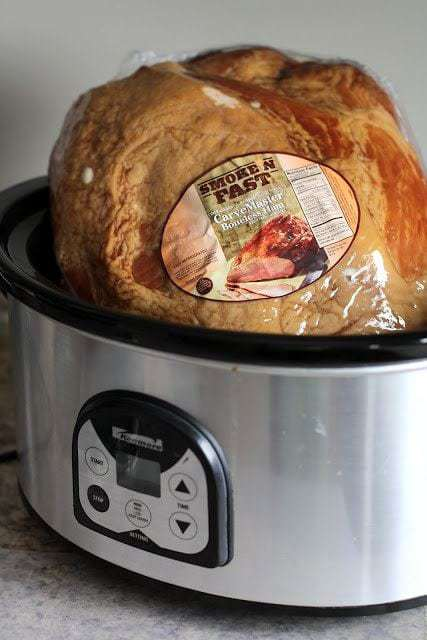 Crockpot Holiday Ham helps you serve a delicious and flavorful meal without having to spend all day preparing it! It is so quick and easy!