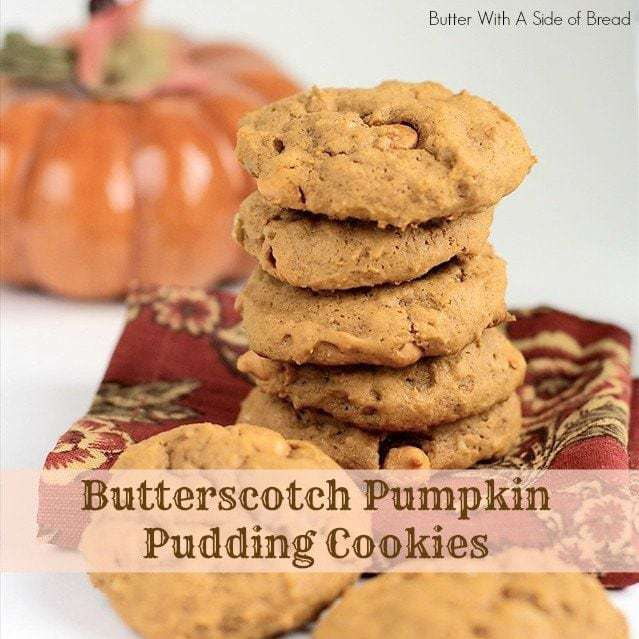 butterscotch pumpkin pudding cookies