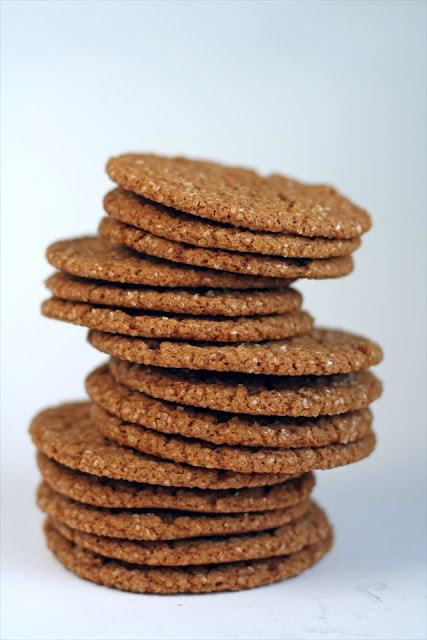 Ginger Spice Cookies: Butter with a Side of Bread