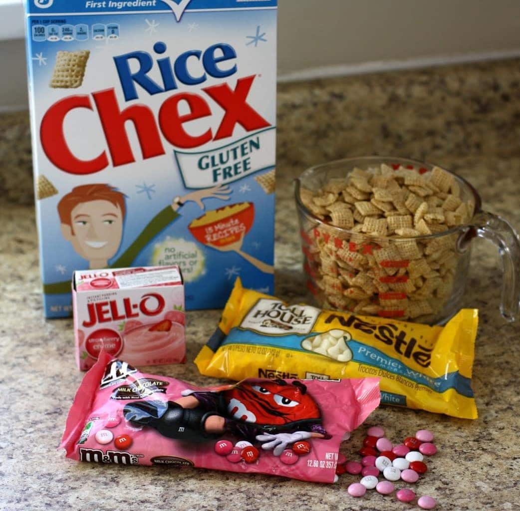 Strawberry Valentine Chex Mix: Butter With A Side Of Bread ...