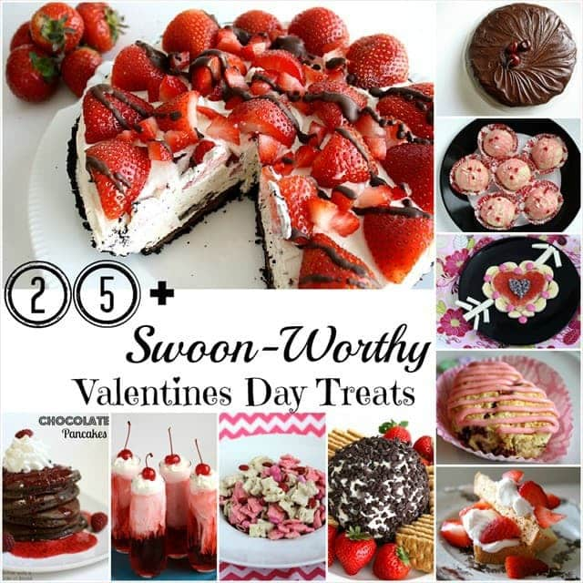 25 valentines day treats butter with a side of bread - Easy Valentines Treats