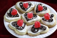 Valentines Chocolate Lattice Sugar Cookies155
