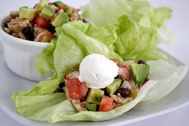 Butter With a Side of Bread: Mexican Lettuce Wraps