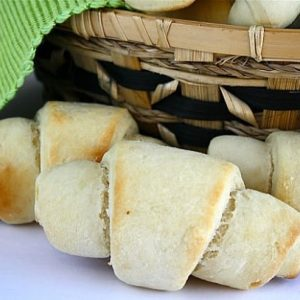 Quick and Easy Dinner Rolls can be made without a mixer in 30 minutes from start to finish and they are soft, fluffy and delicious! I'll never need another roll recipe again!