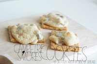Campfire Smores Cookies