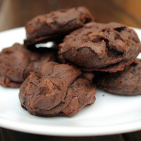Fudge Chocolate Mint Cookies