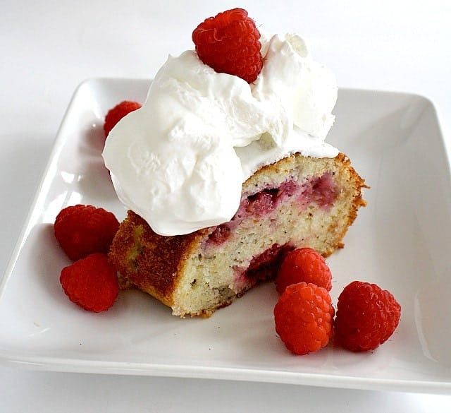Butter with a Side of Bread: Raspberry Buttermilk Cake