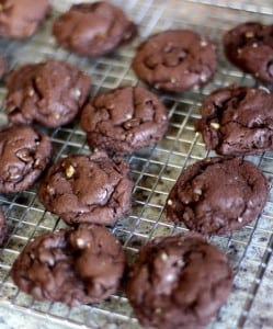 FUDGE WALNUT CAKE MIX COOKIES: Butter with a Side of Bread