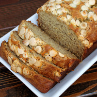 White Chocolate Chip Banana Bread