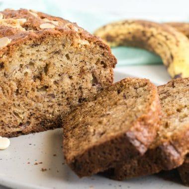 White Chocolate Chip Banana Bread recipe