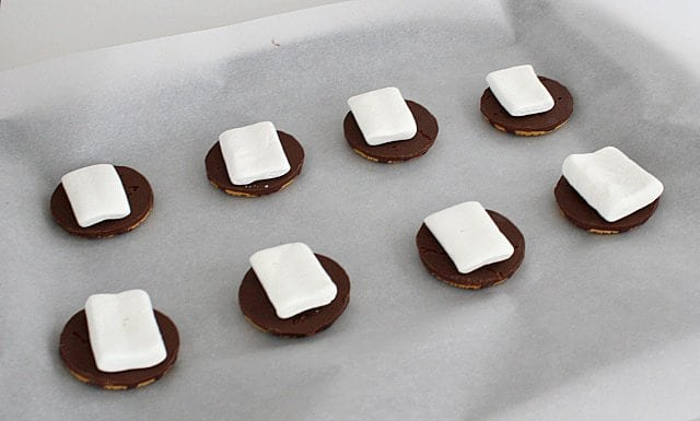 "Butter with A Side of Bread: Fudge Striped Cookie ""S'mores"""