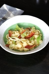 ... ORECCHIETTE CARBONARA WITH FRISEE AND LEMON EASY ZUCCHINI PASTA