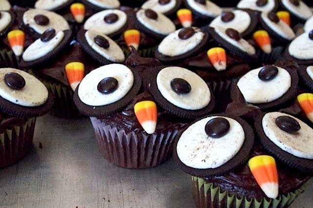 OREO OWL CUPCAKES Butter with a Side of Bread