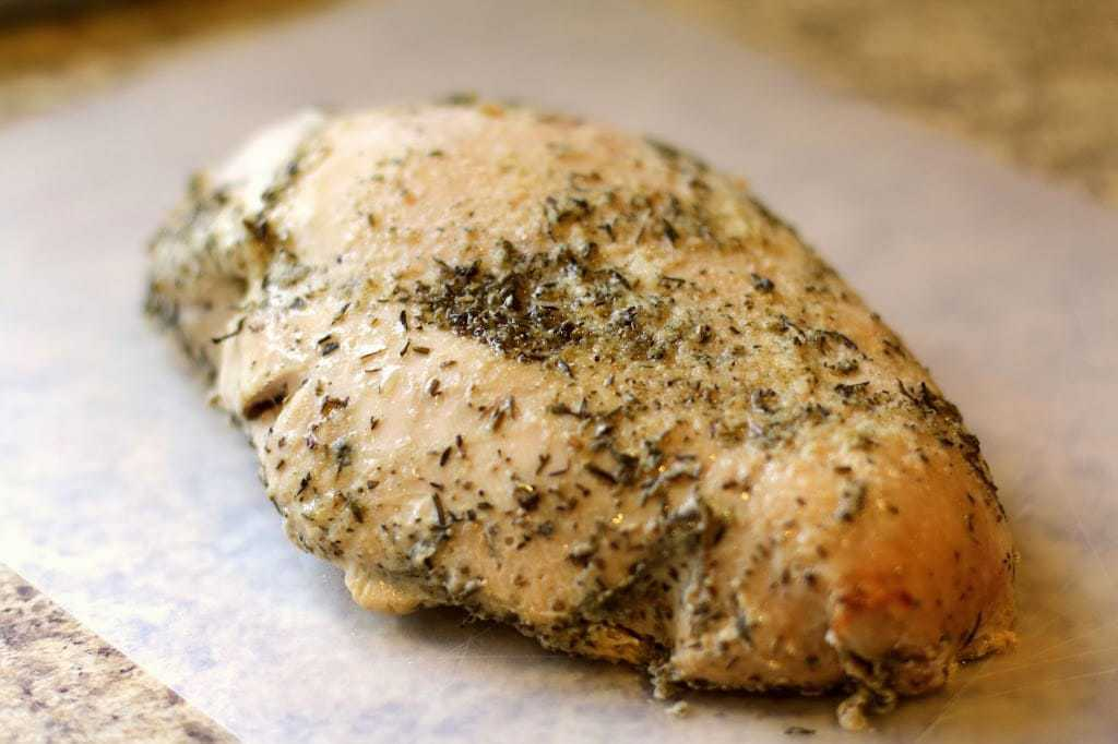 Easy Slow Cooker Turkey Breast Butter With A Side Of Bread