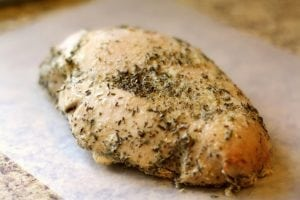 EASY SLOW COOKER TURKEY BREAST: Butter with a Side of Bread