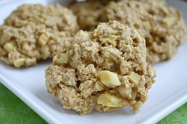 Butter With a Side of Bread: Apple Cinnamon Oatmeal Cookies