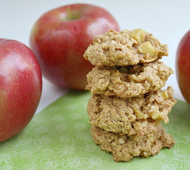 APPLE CINNAMON OATMEAL COOKIES - Butter With a Side of Bread