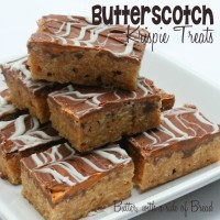 Butterscotch Krispie Treats