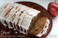 Glazed Apple Cinnamon Bread