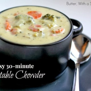 Vegetable-Chowder.Butter-With-a-Side-of-Bread-009top