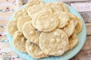 Banana Cream Cookies recipe incorporates banana pudding mix & banana into delectable cookies! Simple recipe for soft, flavorful & perfectly sweet cookies.