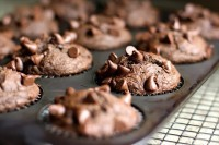 Double Fudge Muffins