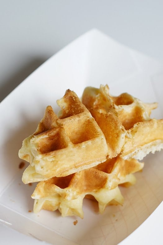 THE PERFECT (CRISP!) BELGIAN WAFFLES, A WAFFLE PARTY, AND ...