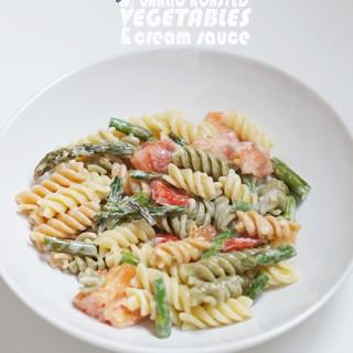 2014-04.-Roasted-Veg-Pasta-w-Cream-Sauce_13words