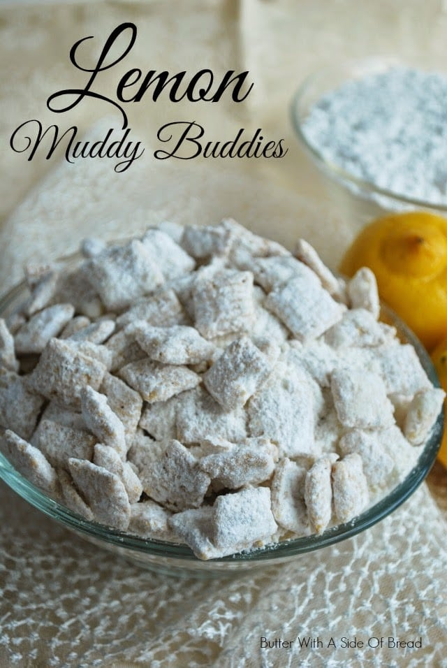 LEMON MUDDY BUDDIES: Butter With A Side of Bread