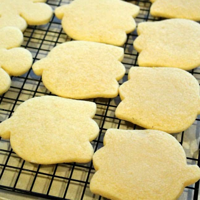 sugar cookies:butter with a side of bread