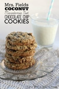 Macadamia Nut Chocolate Chip Cookies