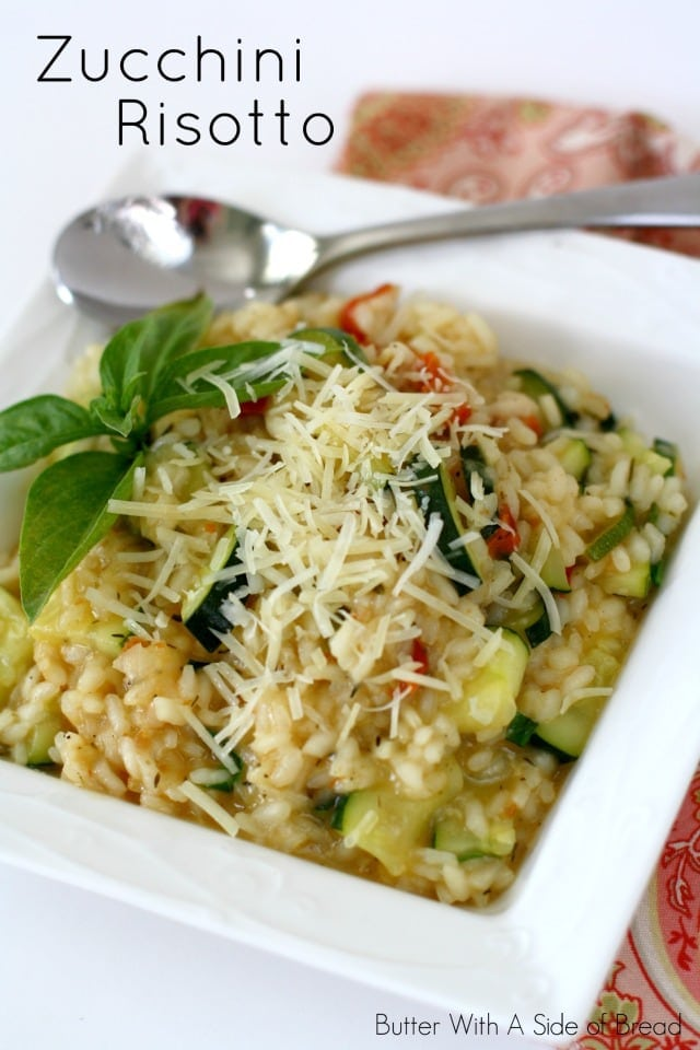 ZUCCHINI RISOTTO - Butter with a Side of Bread