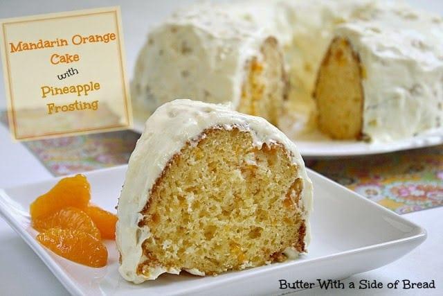 Recipe mandarin orange pineapple cake