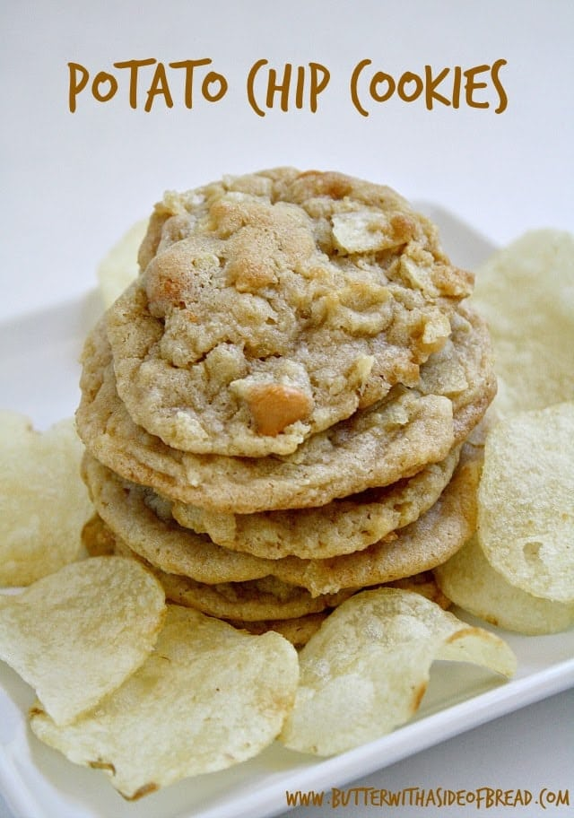 Butter With a Side of Bread: Potato Chip Cookies