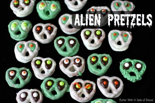 Alien Pretzels: Butter With A Side of Bread Martian Pretzels, Goblin Pretzels, Paranormal Pretzels