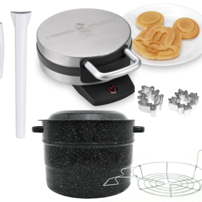 KITCHEN STEALS: Canning Supplies, Digital Meat Thermometer, Baster, Disney Waffle Iron & More