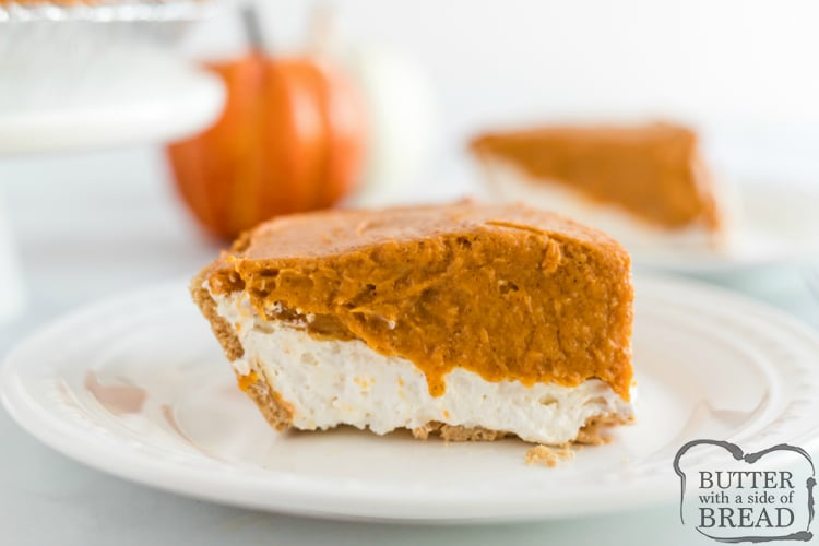 No Bake Pumpkin Pie Butter With A Side Of Bread