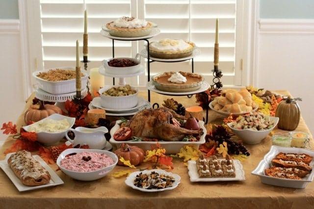 Classic thanksgiving dinner dessert recipes the for What to have for thanksgiving dinner