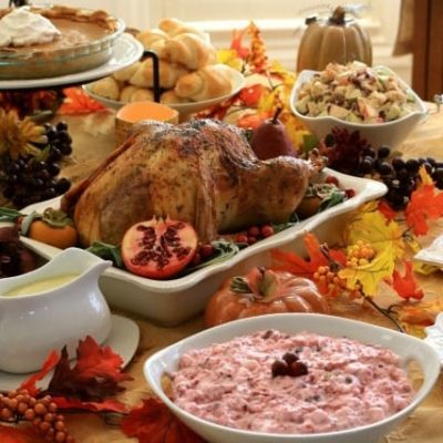 CLASSIC THANKSGIVING DINNER & DESSERT RECIPES~ THE COMPLETE MEAL!