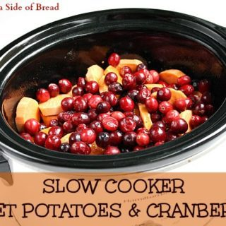 butterwithasideofbreadslowcookersweetpotatoesandcranberries8