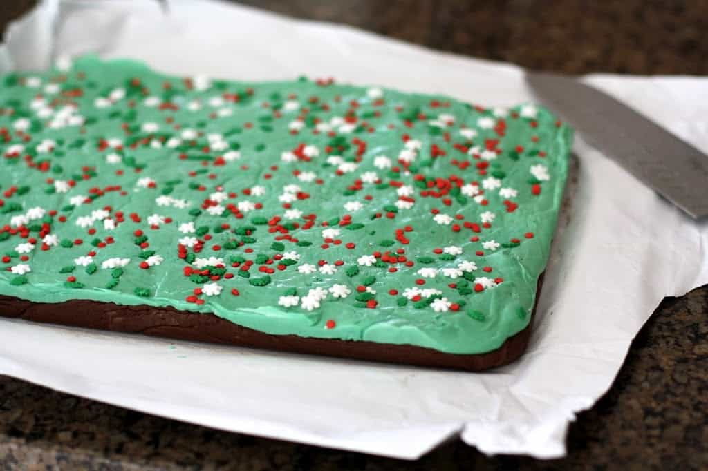 LAYERED MINT FUDGE: Butter With A Side of Bread
